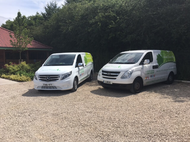 New vans for handyman service